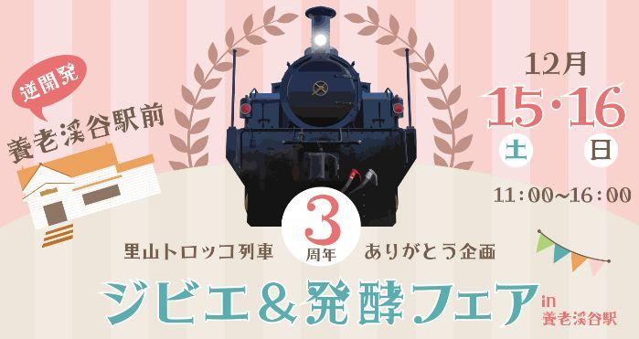小湊鉄道 トロッコ列車 ジビエ&発酵フェア